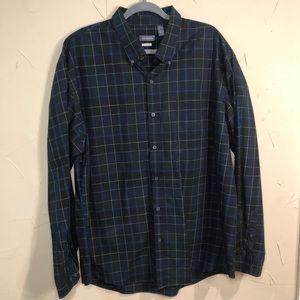 Van Heusen Classic Fit Mens Button Shirt XXL